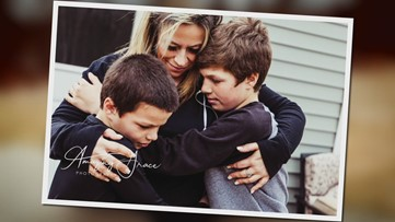 Photos capture Maine nurse's final moments with her sons before she self-isolates