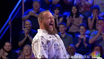 Bucksport man strikes it big on Deal or No Deal racking in $110,000