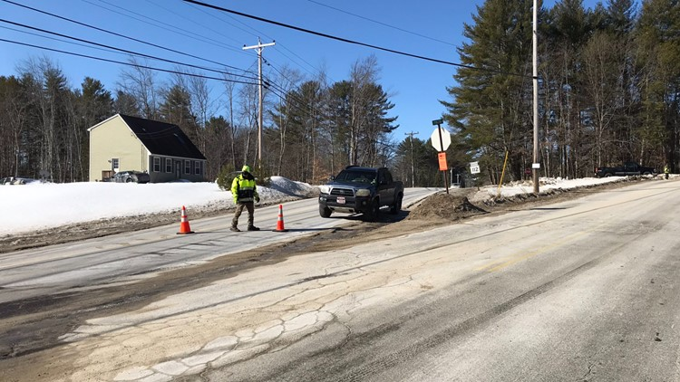 Standoff in Buxton ends, Route 22 reopened