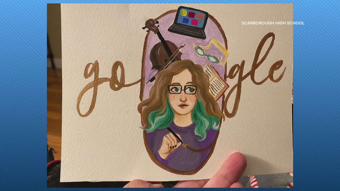 Scarborough teen a finalist in national 'Doodle for Google' scholarship competition