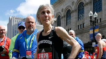 Joanie, at 61, runs Boston just half-hour slower than 1979