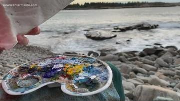 Artist turns trash into craft, helping environment