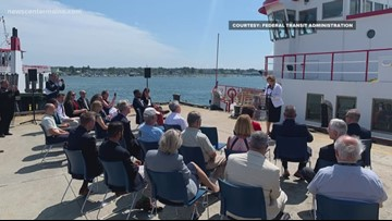 Casco Bay Ferry receives federal grants