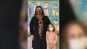 Maine first grade teacher saves student from choking