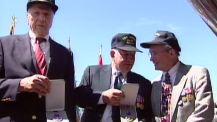 Remembering survivors of WWII Navy ship that sunk off Maine coast