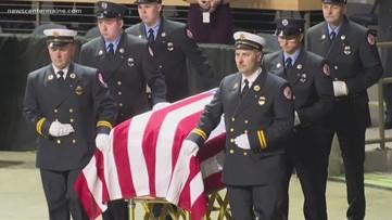 Moving memorial service for Captain Joel Barnes
