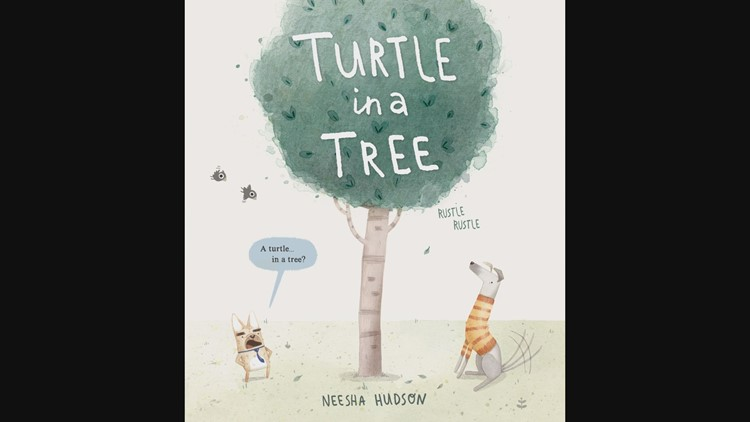 Maine author and illustrator pens 'Turtle in a Tree'