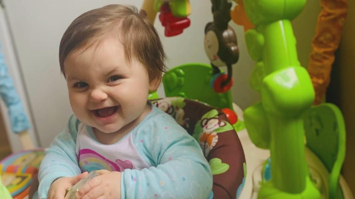 11 month old baby battles cancer