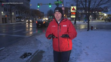Checking out the icy commute in the Lewiston-Auburn area