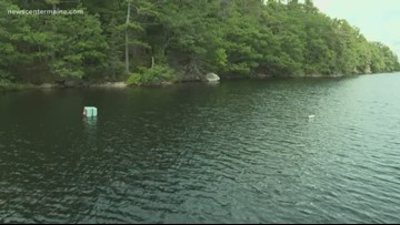 Boothbay Harbor pond gets local attention