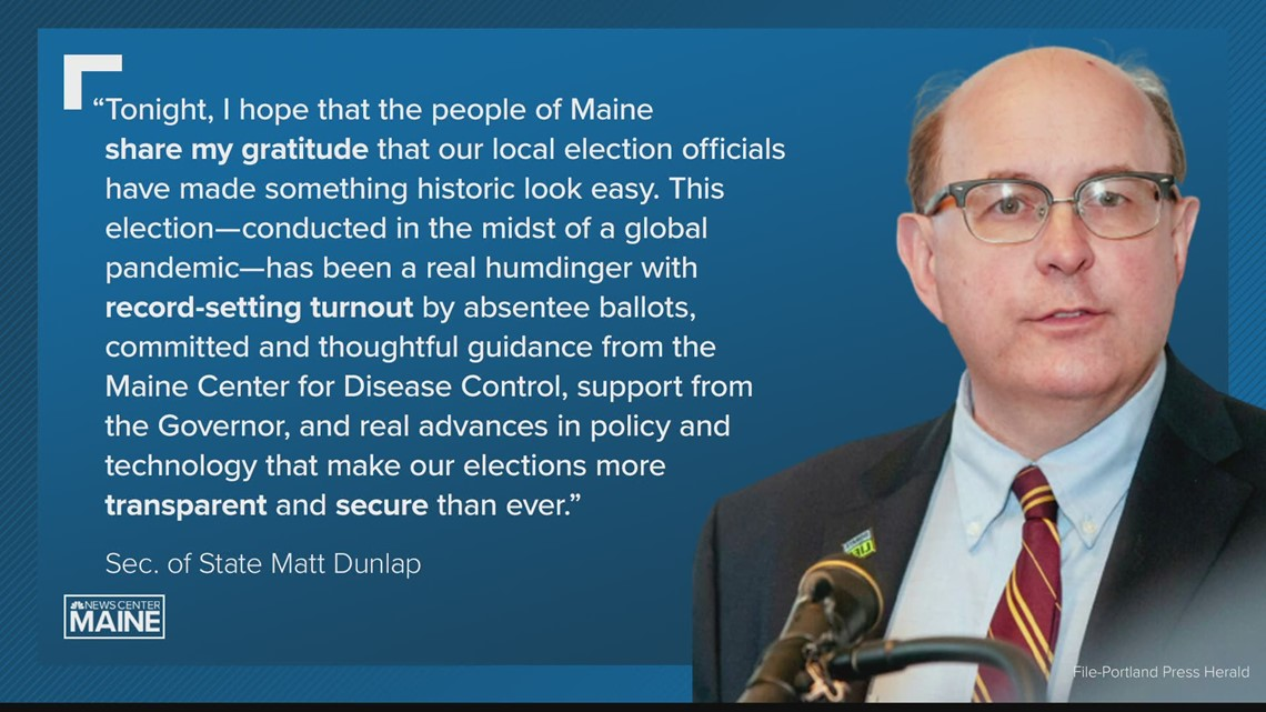 Matt Dunlap comments on voter turnout amid his last election as Maine secretary of state