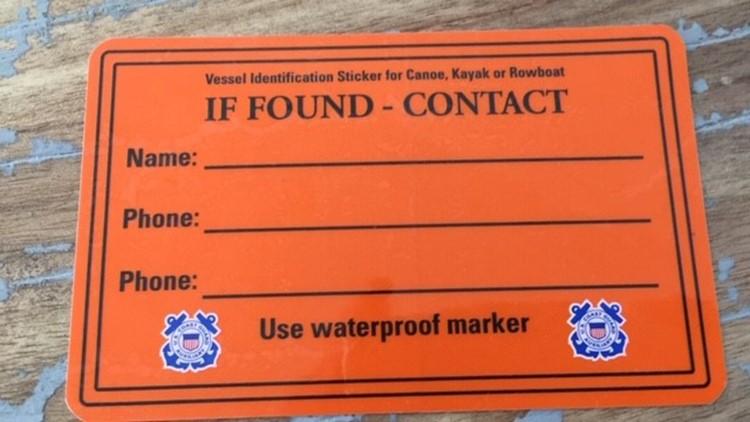 If Found Sticker