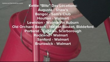 Salvation Army plans kettle 'blitz' day