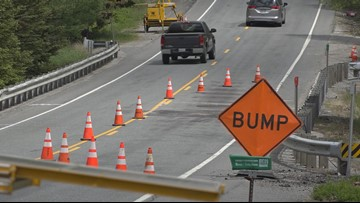Large hole on Route 172 causes concern