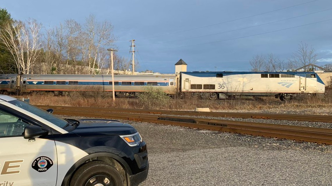 'Trespasser' hit and killed by Amtrak Downeaster train in Biddeford