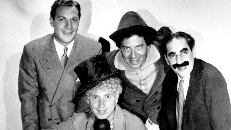 Groucho and the Marx Brothers