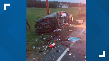 One person killed, another transported to the hospital from St Albans accident