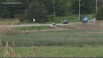 Crash closes Route 1 in Scarborough