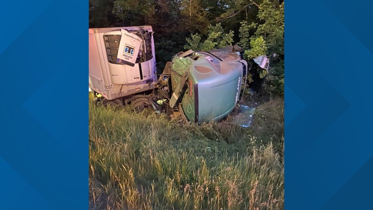 Traffic delays expected for tractor-trailer crash investigation