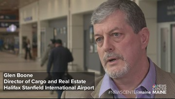 Director of Cargo and Real Estate Halifax Stanfield International Airport talks flights to China