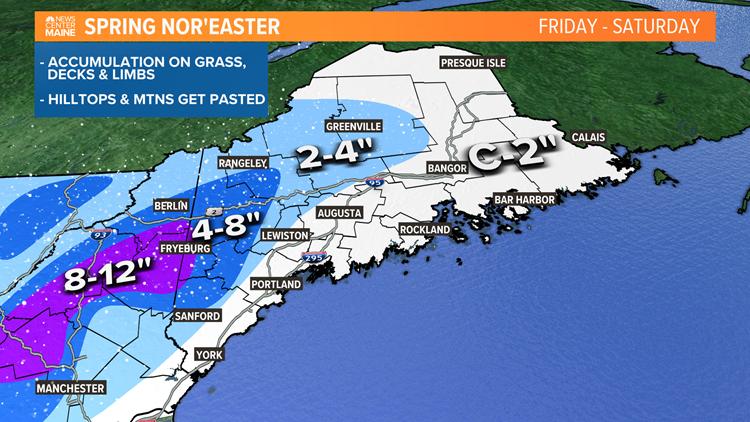 Late-season snowstorm begins tonight