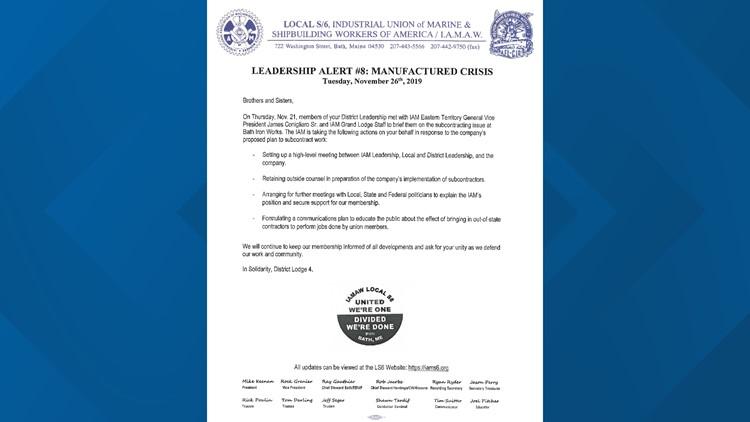 S6 leadership alert