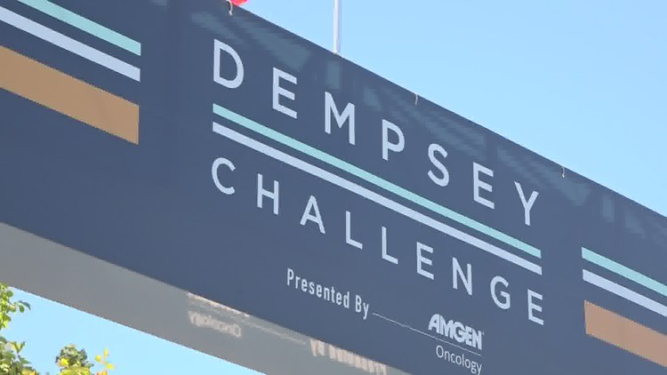 Patrick Dempsey gears up for the Dempsey Challenge