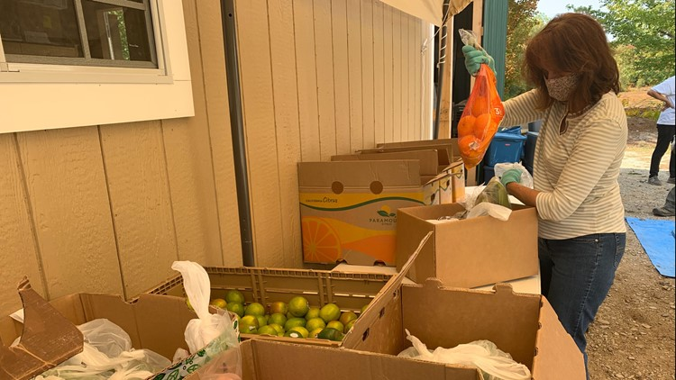 Burlington food pantry opens during COVID-19 pandemic to help neighbors in need