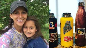 Mother-daughter sticker business created to raise money during coronavirus