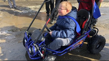 Make-A-Wish Maine grants 1,500 wish to a boy in Guilford