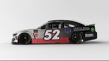 Race car to feature Bangor Savings Bank, Travis Mills Foundation in Miami race
