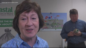 Collins visits new Hampden garbage facility