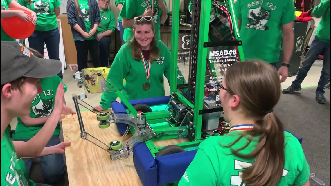 Students pair passion with science, place first in division at 'Worlds' robotics competition