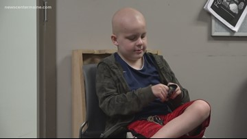 Boston charity helps Maine child fighting cancer