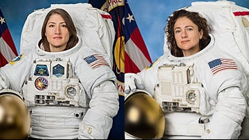 Maine astronaut embarks on NASA's first all-female spacewalk