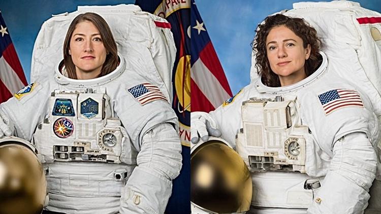 Maine astronaut embarks on NASA's first all-female spacewalk
