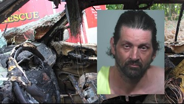 Burned-out SUV was ignited by transient: Westbrook police