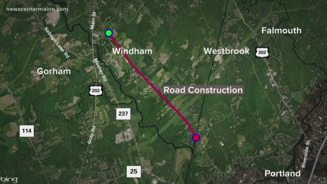 2-year road construction project begins in Windham