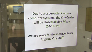 Augusta city offices hit by computer virus