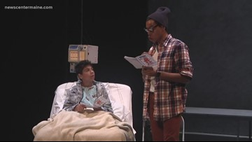 """In """"Read To Me"""" at Portland Stage, corresponding with pen pals brings the outside world in"""