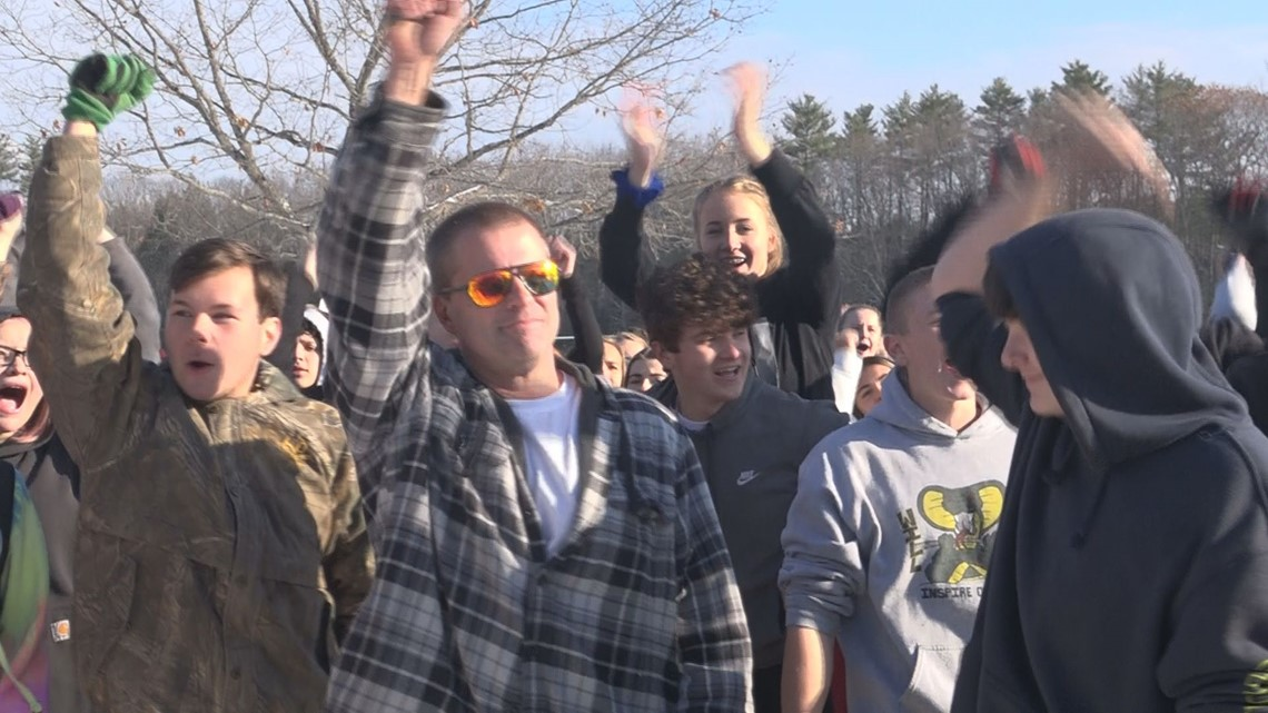 Carrabec High School students walk out of class in protest of teacher placed on administrative leave