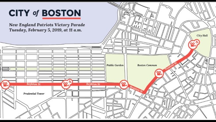 Duck Boat Parade Map