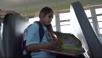 New program brings books to kids on school buses in Maine