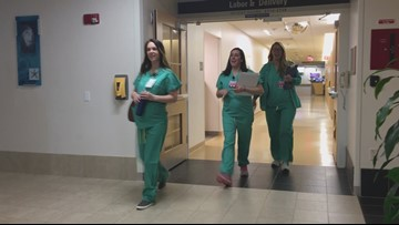 Nine nurses pregnant at Maine Medical Center
