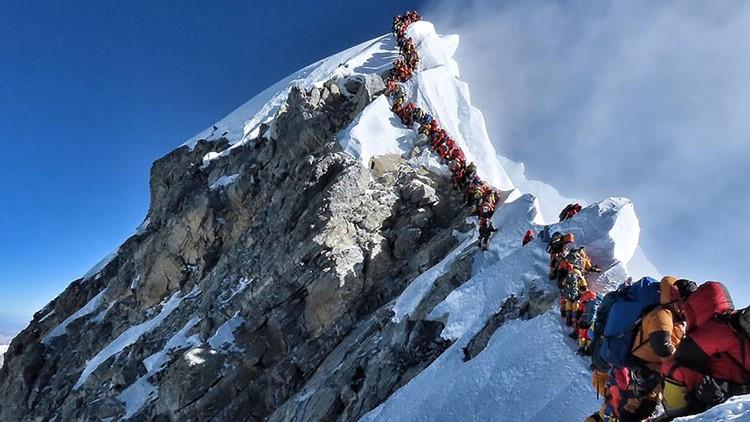 Mount Everest Hilary Step