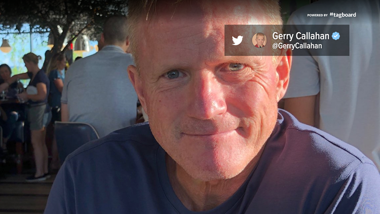 Gerry callahan twitter weei