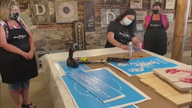 Keep ME Open: Boards and Brushes studio getting back to getting creative