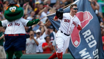 Red Sox send Royals packing in 12 minutes after two weeks of waiting