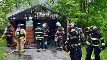 Rockland teens, 17 and 19, charged with arson, burglary