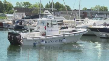 Cleaning up Casco Bay's waters